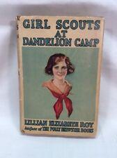 1921 Girl Scouts At Dandelion Camp Antique Scouting Book Lillian Elizabeth Roy