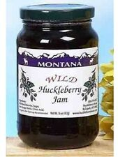 Wild Huckleberry Jam 16oz Made in Montana by Huckleberry Haven 16 oz Jelly Hound