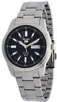 Seiko 5 SNKN13J1 Men's Japan Stainless Steel Black Dial Day Date Automatic Watch