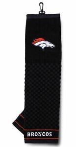 Denver Broncos 16x22 Embroidered Golf Towel NFL Football Sports Towel