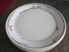 ROYAL DOULTON GREENWICH Fresh Flowers Salad  Plate Lot of 5