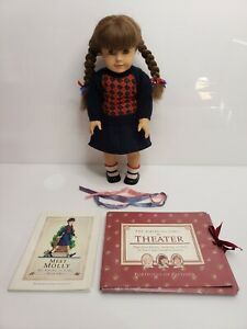 American Girl Pleasant Company Molly Doll With Book & Accessories
