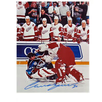 CHRIS OSGOOD signed Detroit Red Wings 8x10 Photo – 70193
