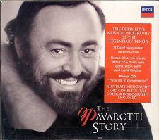 The Pavarotti Story box CD NEW Definitive Musical Biography set