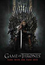 Game of Thrones Poster Wall Art - Season 1 - Ned Stark - NEW - 11x17 13x19