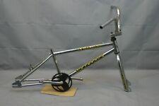 1996 Mongoose Motivator BMX Bike Frame Vintage Midschool Chrome Steel US Charity