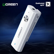 Ugreen Bluetooth 5.0 Receiver APTX 3.5mm Aux Bluetooth Audio Adapter Headphone