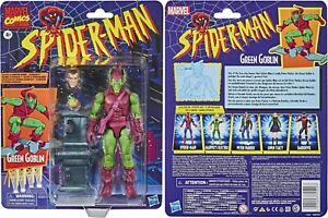 "Marvel Legends Vintage Retro 6"" Figure Spider-Man Series 1 Green Goblin MOC NEW"