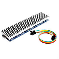 MAX7219 Dot led matrix MCU control LED Anzeigen Modul  for Arduino Raspberry Kit