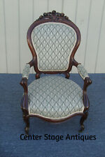 61429 Antique Victorian Walnut Parlor Chair
