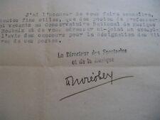 ANDRE OBEY 2 X Autographe Signé 1946 ROMANCIER DRAMATURGE COMEDIE-FRANCAISE