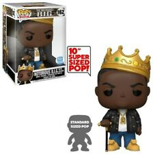 """Funko Pop! Rocks: Notorious B.I.G with crown 10"""" inch Biggie Smalls 162 In Hand"""