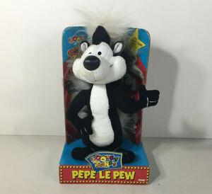 Looney Tunes PEPE LE PEW Plush Doll *NIB 10'' Tall 1994  NOS