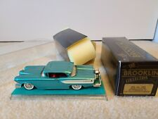 Brooklin 1:43 1958 Edsel Brk 22A All Packaging & Display Case Collector Quality