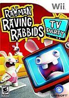 Rayman Raving Rabbids TV Party Nintendo Wii