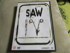 """DVD """"SAW V 5"""" film d'horreur de David HACKL"""