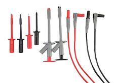 Extech Multimeter Electrical Test Lead Kit -  8-piece double insulated