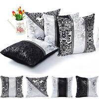 Hot Sale Cotton Linen Cushion Cover Throw Waist  Pillow Case Car Home Sofa Decor