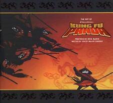 SIGNED by Tracey Miller-Zarneke - The Art of Kung Fu Panda HC 1st/1st Dreamworks