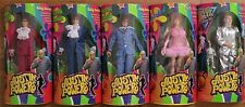 Austin Powers 1998 Trendmasters Complete 6 Figure / Doll Set Nos
