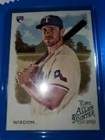 2019 Topps Allen And Ginter Patrick Wisdom RC No.211 Texas Rangers