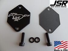 86-04 Mustang GT/Cobra Aluminum IAC Idle Air Control delete kit with BLACK HORSE