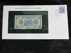 Haiti : 2 Gourdes 1979 NEUF ; Banknotes of All Nations