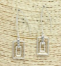 Silver and Gold FASHION Hook Earrings