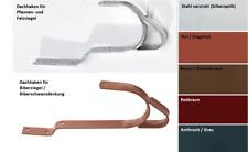 Dachhaken für Ziegel- und Pfannendächer oder Biberziegel-Dächer / Dachleitern