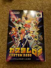 Custom Robo - Nintendo 64 N64 JP Japan Import Robot V1 (AF) cartridge only