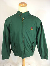 ViNtAgE 90s MeNs Ralph Lauren Polo Golf CoAt JaCkEt Plaid Lined Green XL