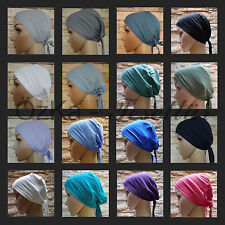 BONE Untertuch Bandana Tuch Kopftuch Hijab Tesettür Esarp Baumwolle Saten Satin