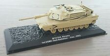 MILITARY MODEL 1:72 Abrams M1A1HA 1st USMC Tank Battalion Iraq 2003