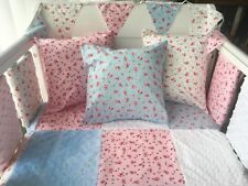 """12"""" Handmade Cushion Cover Pink Floral"""