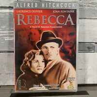 Alfred Hitchcock Rebecca DVD Laurence Olivier Joan Fontaine New Sealed
