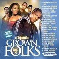DJ ANT LO GROWN FOLKS SOUL & R&B CLASSICS MIX CD VOL 8