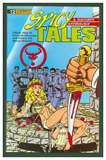 Spicy Tales #12 VF 1989 Eternity Comics - GGA Bondage Headlight Cover
