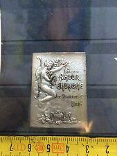 RARE étiquette Argent Silver PARFUM BERTALOT AMOUR EMBAUME années 1915-20