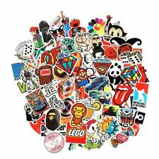 100 Waterproof Stickers Laptop Car Luge Dope Supreme Hypebeast Bape Slaps