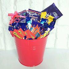Chocolate hamper bucket dairy milk mini bar selection birthday gift basket kids