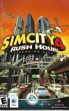SIM City 4 RUSH HOUR Expansion Pack for PC Manual ONLY EA Games