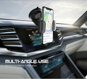 360 In Car Mobile Phone Holder Dashboard Suction Home Universal Mount Windscreen