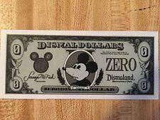 Bansky Dismaland Zero Dollar - Prophets Collab VERY RARE