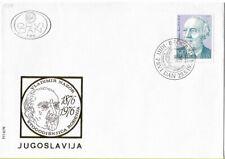 FDC 1976 Yugoslavia Vladimir Nazor Anniversary Croatia Veli Jože Hrvatska