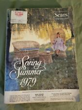Vintage 1979  SEARS Spring Summer Catalog