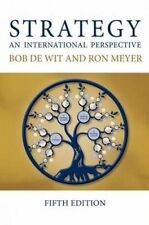 Strategy: An International Perspective by Bob De Wit, Ron Meyer (Paperback, 2014