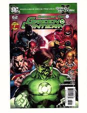 Green Lantern #62 (2011, DC) NM- Vol 4 Brightest Day New Guardians Geoff Johns