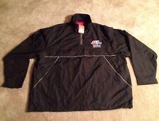 (New) Super Bowl XL (40) Detroit Feb.5,2006 Black Windbreaker Jacket (men's XL)