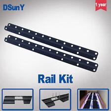 Aquarium noir rail de montage / barres / kit de lumière, connectez les panneaux together,daisy-chain