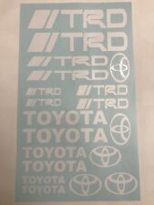 19pc Toyota TRD Assortment Vinyl Sticker Decal Logo Graphic Emblem Tundra